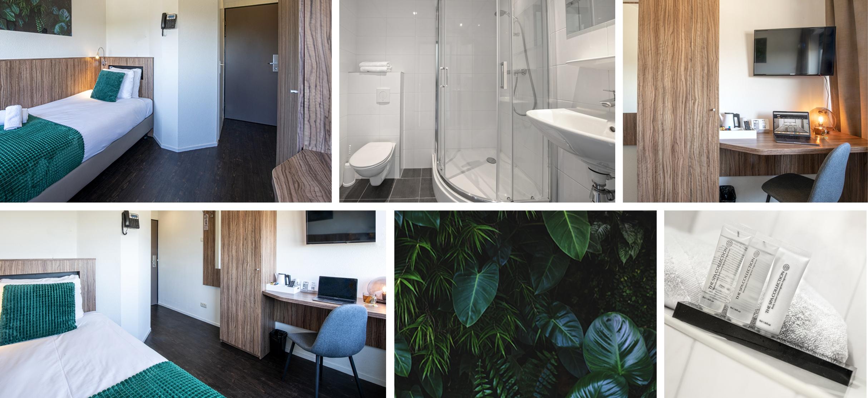 Single Room congreshotel WICC Wageningen